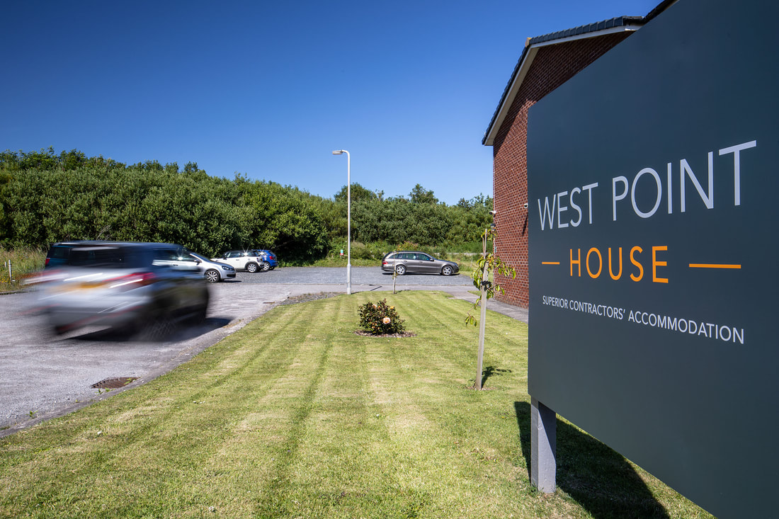 West Point House Self Catering Accommodation Carpark